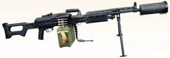 Единый пулемет АЕК-999 (