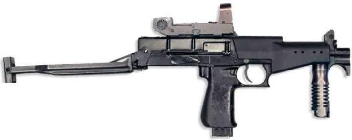 Пистолет-пулемет СР.2