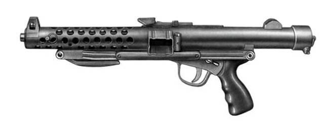 Пистолет-пулемет Star C 2